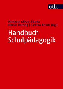 Buchcover Handbuch Schulpädagogik